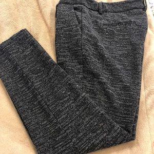 Lila Rose black & grey polyester skinny leg pant 6